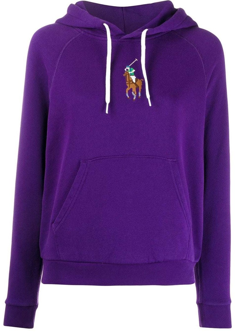 Ralph Lauren: Polo embroidered Pony relaxed-fit hoodie