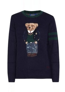 Ralph Lauren: Polo Embroidered wool sweater