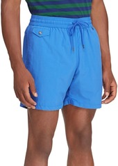 Ralph Lauren Polo Explorer Nylon Swim Trunks