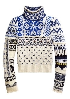 Ralph Lauren: Polo Fair Isle Puff Shoulder Turtleneck