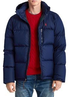 Ralph Lauren Polo Faux Fur-Lined Down Puffer Jacket