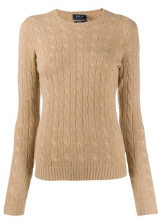 Ralph Lauren: Polo fitted cable-knit sweater