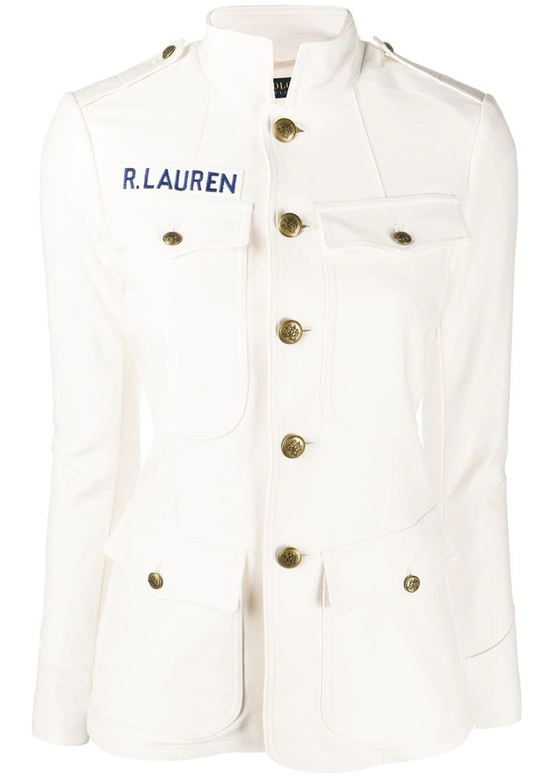 Ralph Lauren: Polo fitted stand up collar jacket