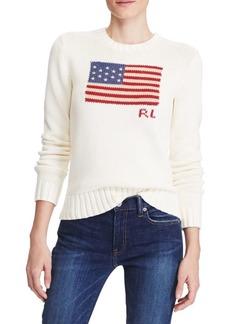 Ralph Lauren: Polo Flag Cotton Sweater