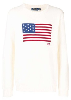 Ralph Lauren Polo flag knitted jumper