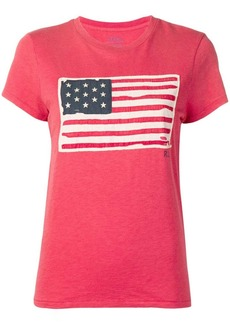 Ralph Lauren: Polo flag patch T-shirt