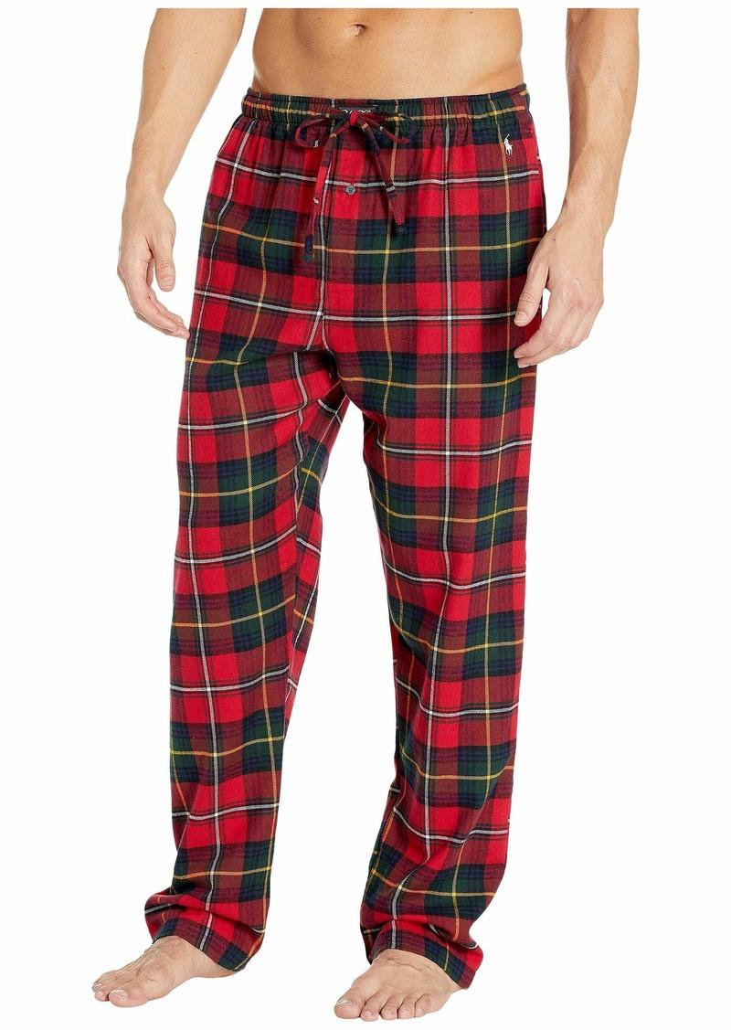 Ralph Lauren Polo Flannel Classic Pajama Pants