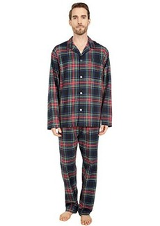 Ralph Lauren Polo Flannel Long Sleeve PJ Top & Classic PJ Pants