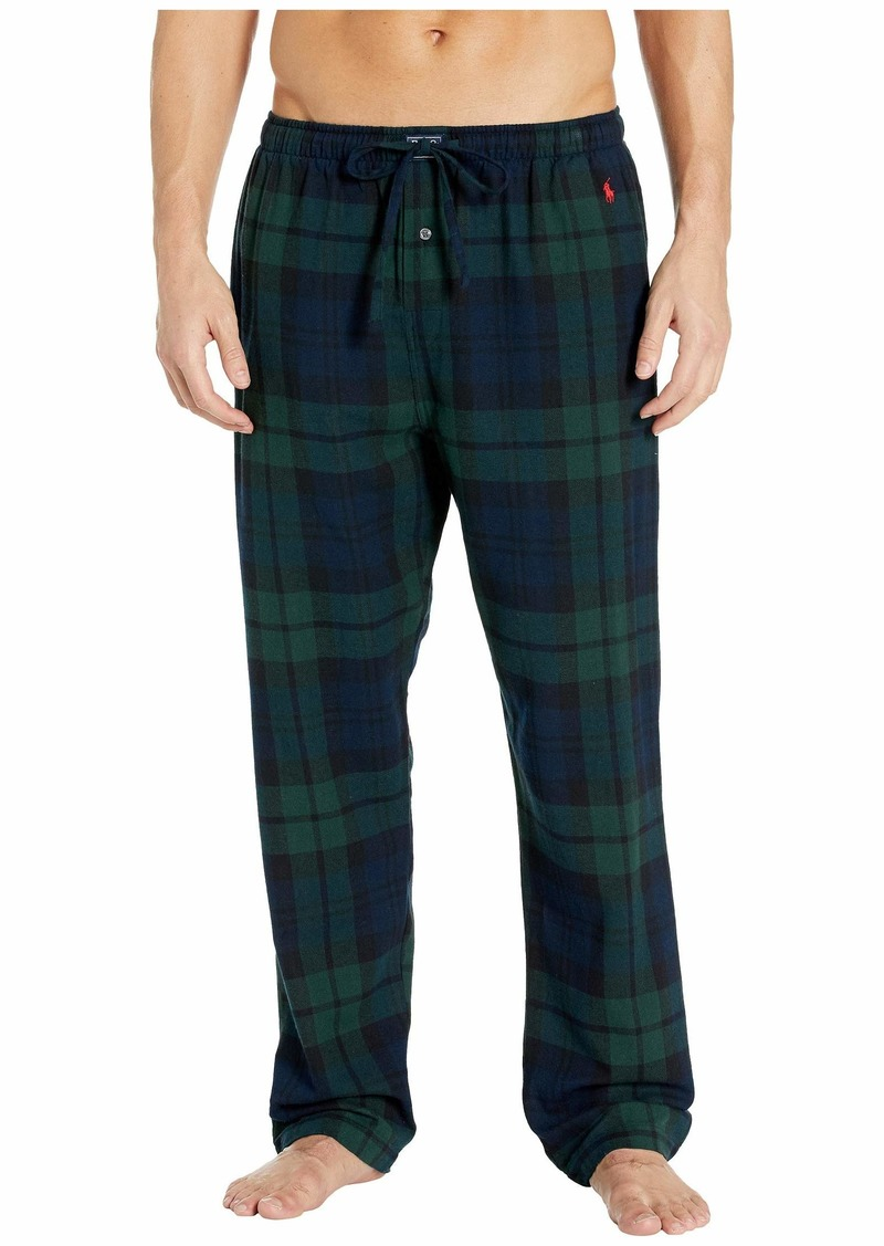 Ralph Lauren Polo Flannel Pajama Pants