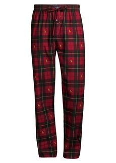 Ralph Lauren Polo Flannel Plaid Pajama Pants