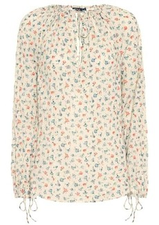 Ralph Lauren: Polo Floral cotton blouse