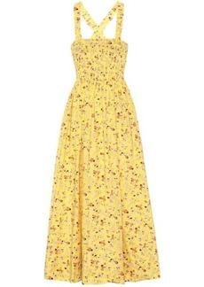 Ralph Lauren: Polo Floral cotton midi dress