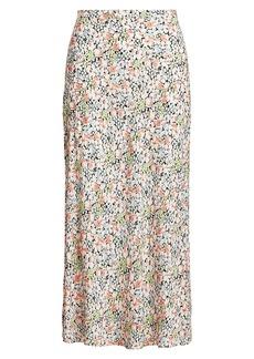Ralph Lauren: Polo Floral Crepe Maxi Skirt