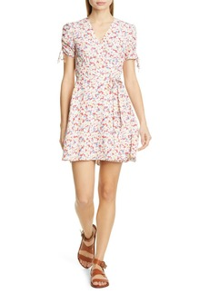 Ralph Lauren: Polo Floral Crepe Wrap Dress