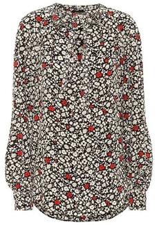 Ralph Lauren: Polo Floral crêpe blouse