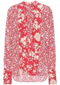 Ralph Lauren: Polo Floral crêpe shirt