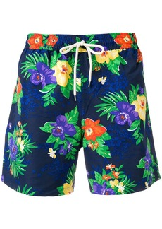 Ralph Lauren Polo floral drawstring swim shorts