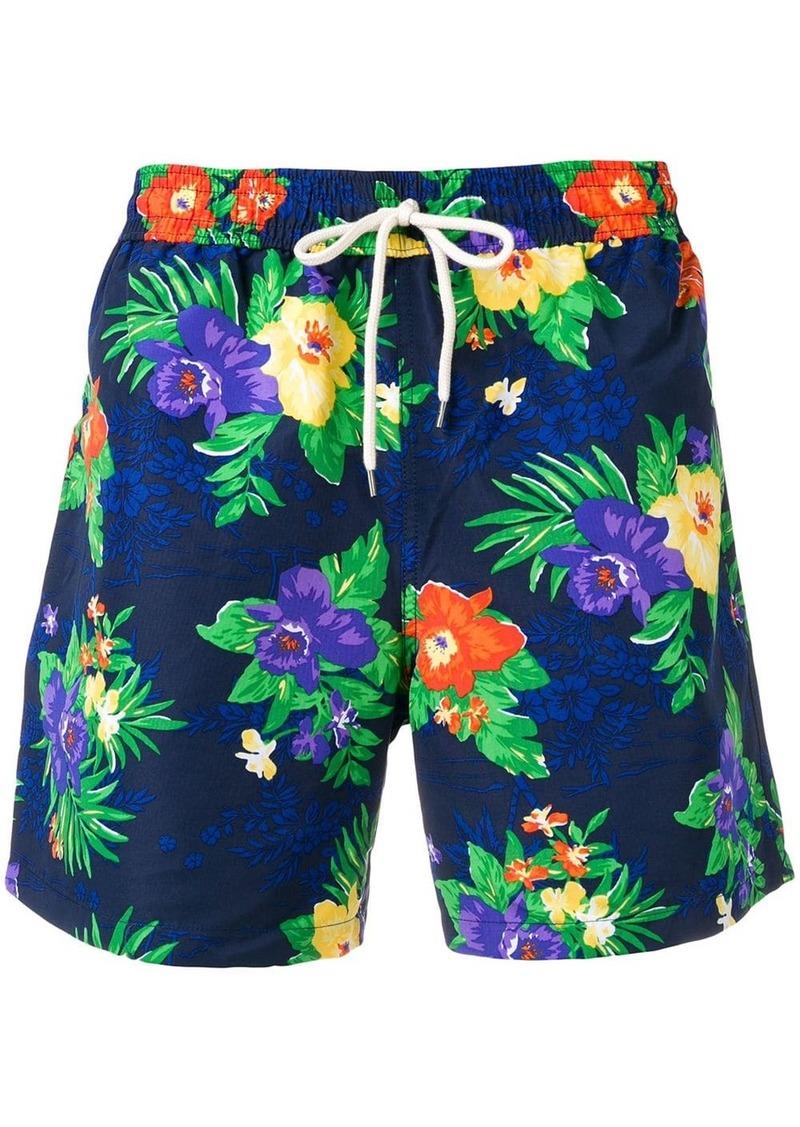 Ralph Lauren Polo floral drawstring swim shorts