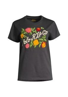 Ralph Lauren: Polo Floral Logo T-Shirt