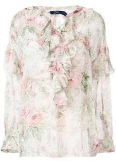 Ralph Lauren: Polo floral print blouse
