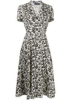 Ralph Lauren: Polo floral-print linen dress