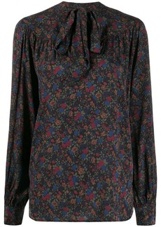 Ralph Lauren: Polo floral print pussy-bow blouse