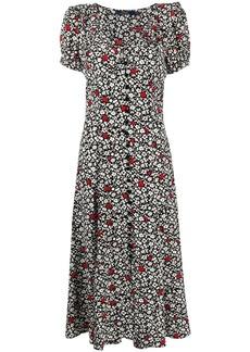 Ralph Lauren: Polo floral-print short-sleeve dress