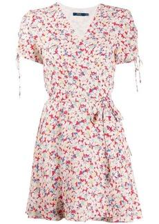 Ralph Lauren: Polo floral print wrap dress