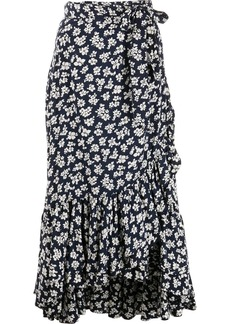 Ralph Lauren: Polo floral-print wrap skirt