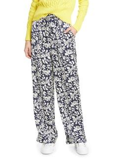 Ralph Lauren: Polo Floral Satin Wide Leg Pants