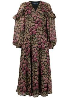 Ralph Lauren: Polo floral shift midi dress