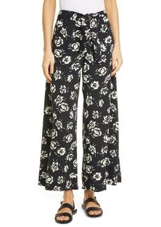 Ralph Lauren: Polo Floral Wide Leg Satin Pants