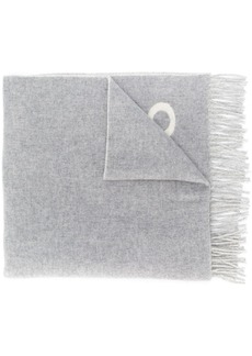 Ralph Lauren: Polo fringed knit logo scarf