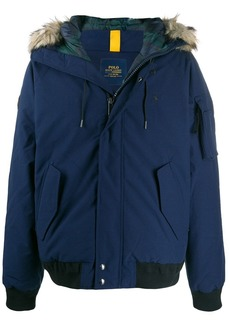 Ralph Lauren Polo fur-hood down jacket