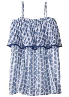 Ralph Lauren: Polo Gauze Print Maxi Dress (Toddler)