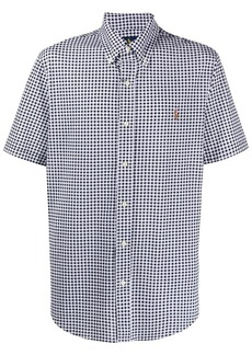 Ralph Lauren Polo gingham check logo shirt