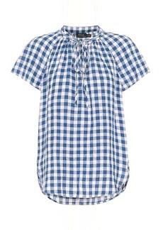 Ralph Lauren: Polo Gingham linen blouse