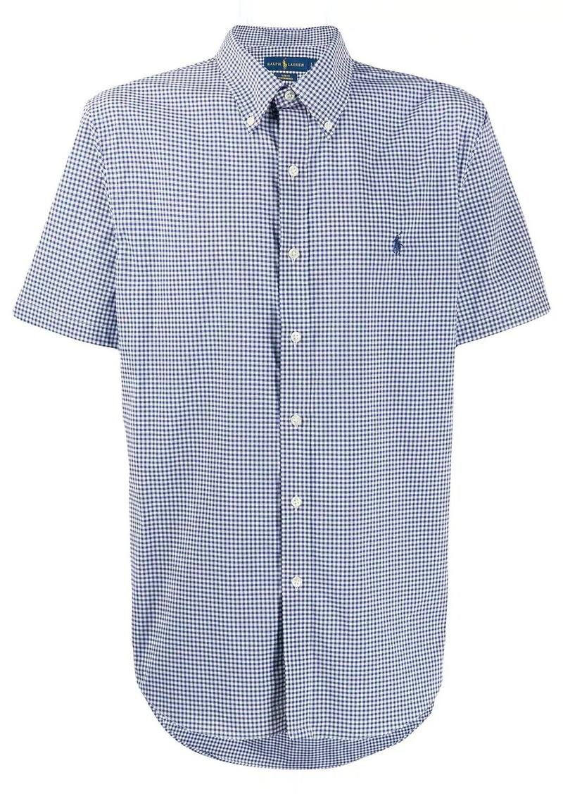 Ralph Lauren Polo gingham print shirt