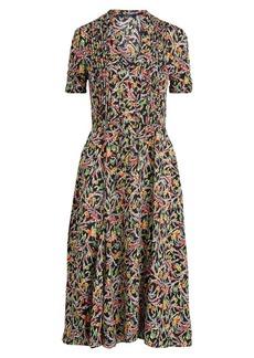 Ralph Lauren: Polo Grace Floral Pleated Dress