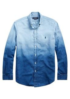 Ralph Lauren Polo Gradient Linen-Blend Shirt
