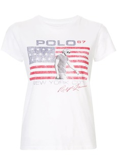 Ralph Lauren: Polo graphic print T-shirt