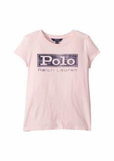 Ralph Lauren: Polo Graphic Tee Shirt (Little Kids/Big Kids)