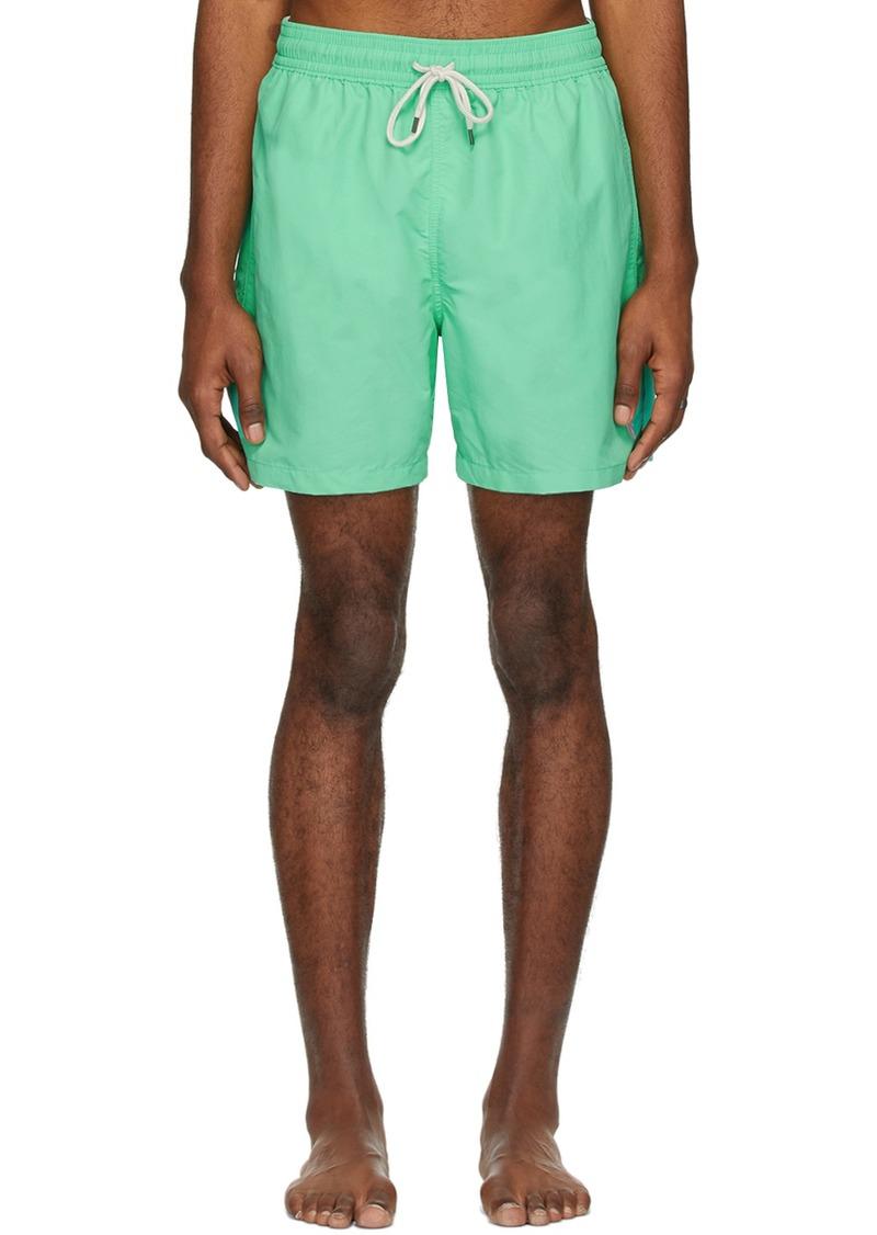 Ralph Lauren Polo Green Traveler Swim Shorts