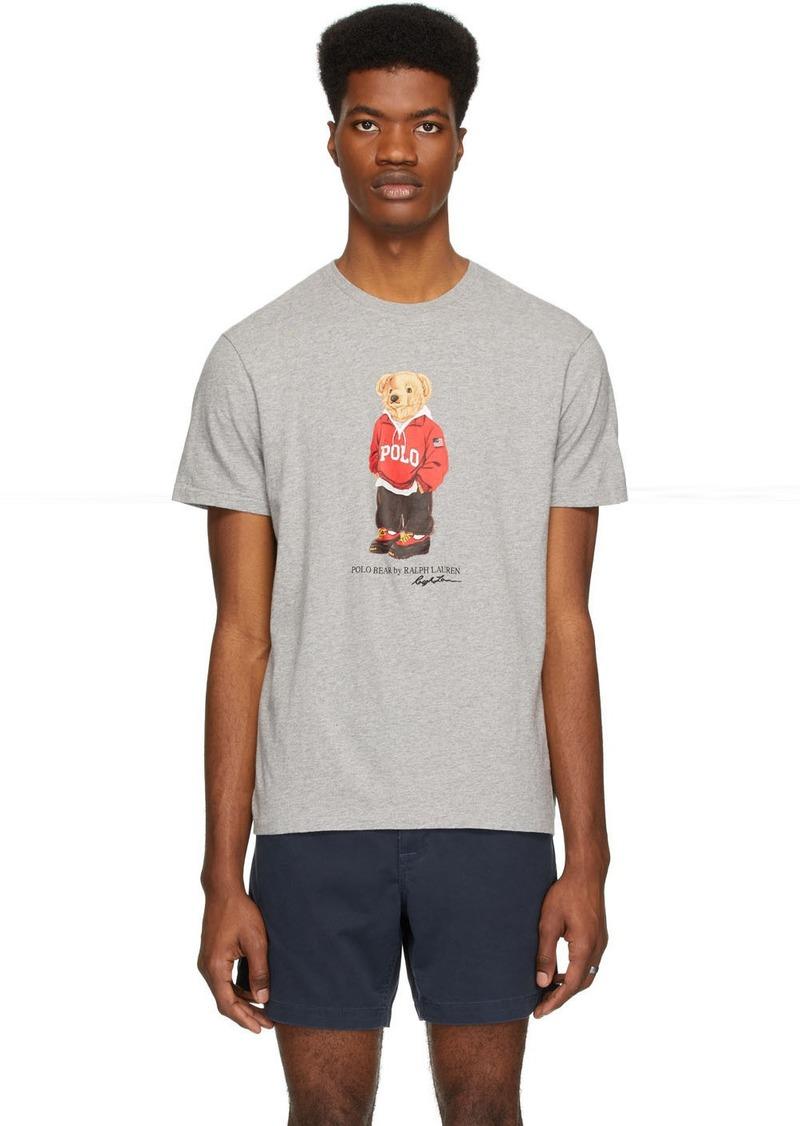 Ralph Lauren Polo Grey Bear T-Shirt