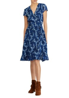 Ralph Lauren: Polo Hanah Floral-Print Dress