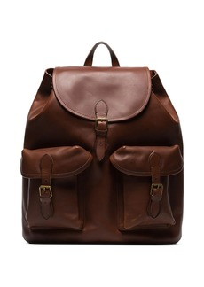 Ralph Lauren Polo heritage leather backpack