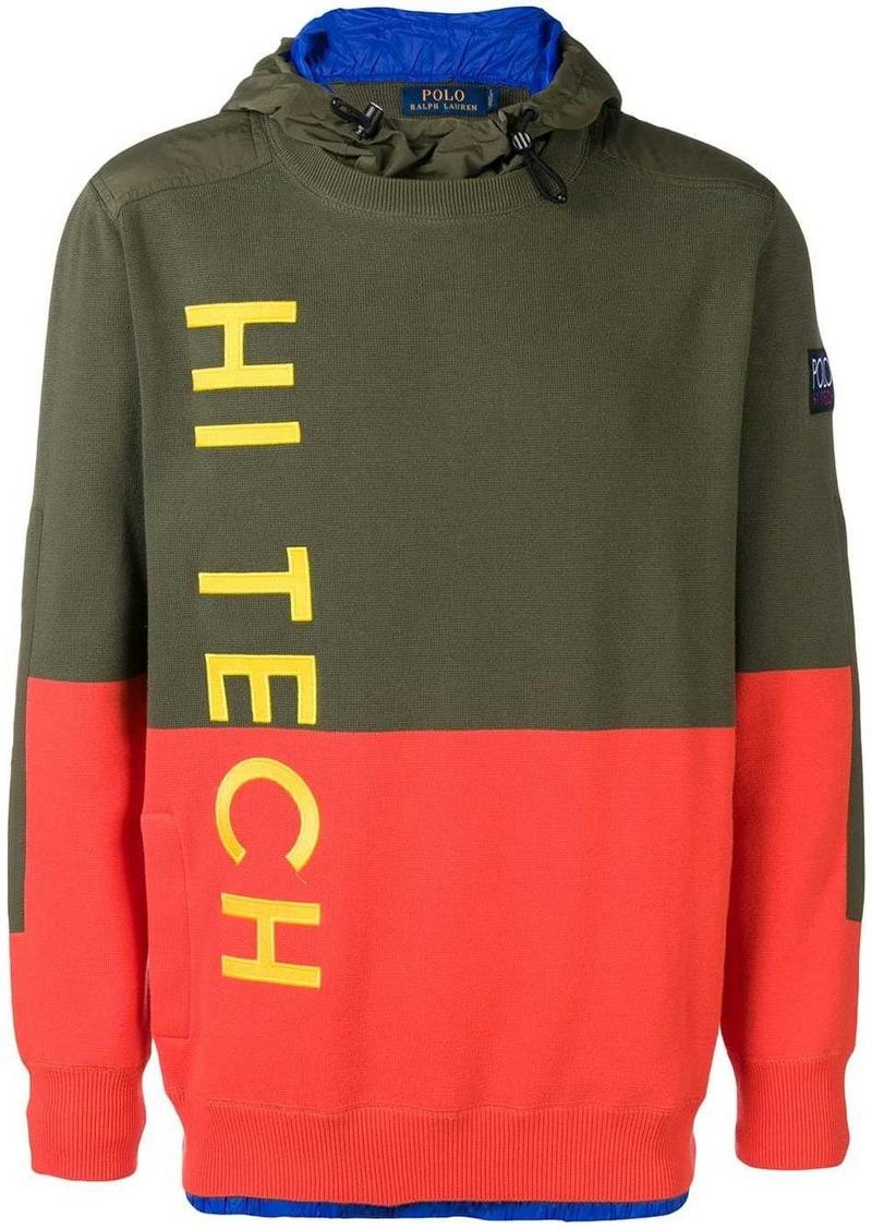 Ralph Lauren Polo Hi-Tech hooded jumper