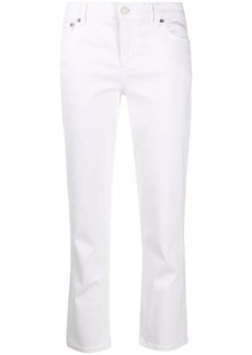 Ralph Lauren: Polo high rise cropped jeans