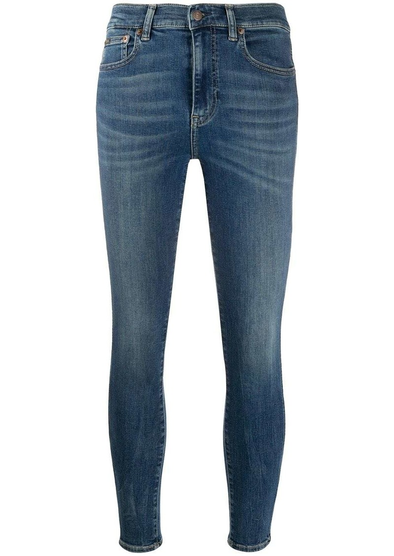 Ralph Lauren: Polo high-rise skinny jeans