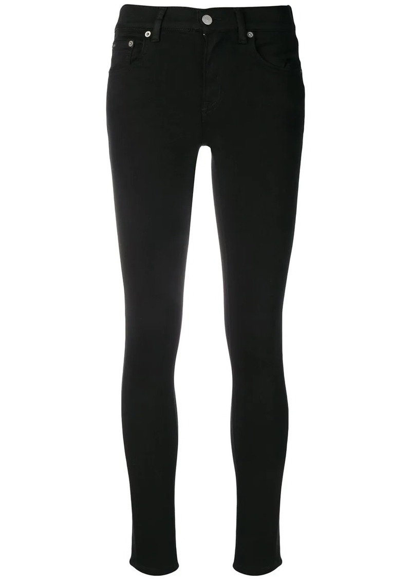 Ralph Lauren: Polo high rise skinny jeans